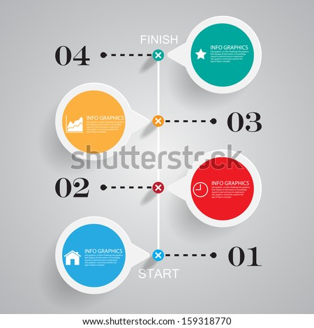 Business chart success ,Illustration eps 10 - stock vector