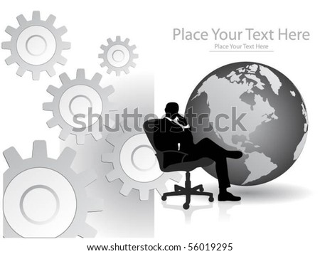 business concept design - stock vector