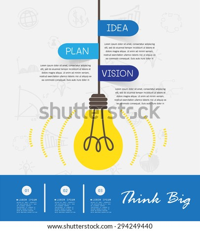 Business Concept , Infographics ,Vector Illustration - stock vector