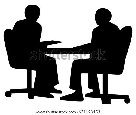 Business Conversation Two Businessman Speaking Working ...