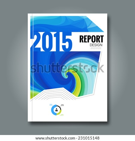 Business design background. Cover Magazine geometric shapes info-graphic, Brochure, report vector illustration  - stock vector