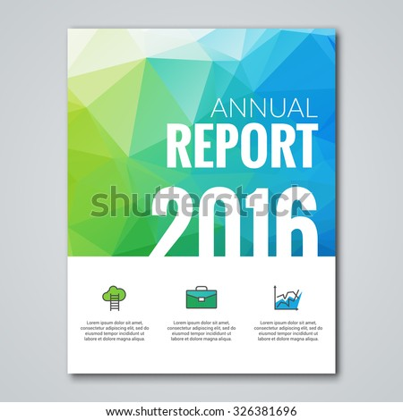 Business Design Cover Magazine Infographic Background Vector – Business Annual Report Template