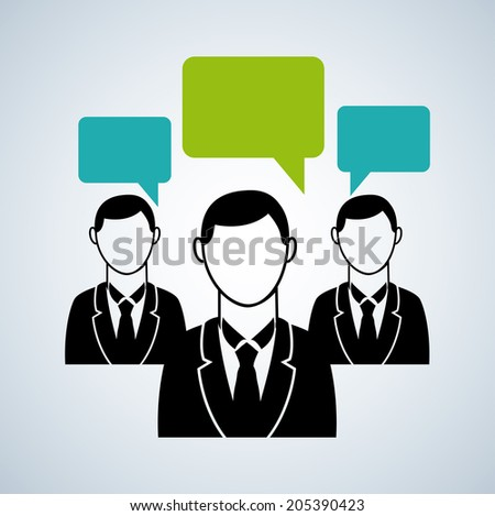 business design over blue  background vector illustration