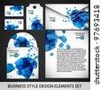 Business design set - stock vector