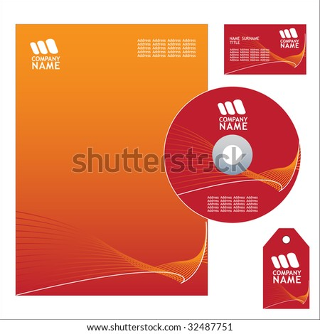 Business Design Set. Vector. For more images VISIT MY GALLERY. - stock vector