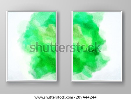 Business design templates. Brochure with Multicolored Blurred Backgrounds. Abstract Modern Vector Illustration. - stock vector