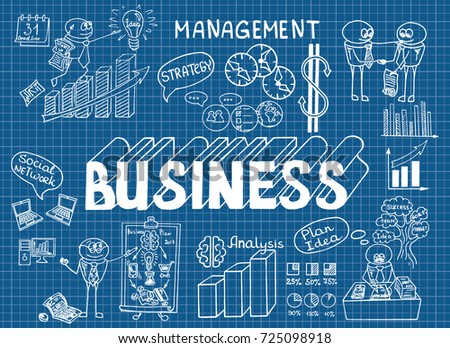 Hand drawn style business design pencil stock vector 416507638 business doodles sketch set of infographics elements it include symbols of graphs stats malvernweather