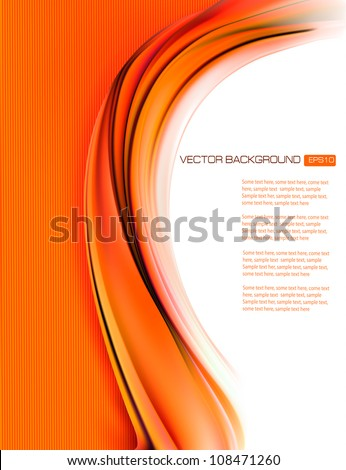 Business elegant abstract background illustration. Vector - stock vector