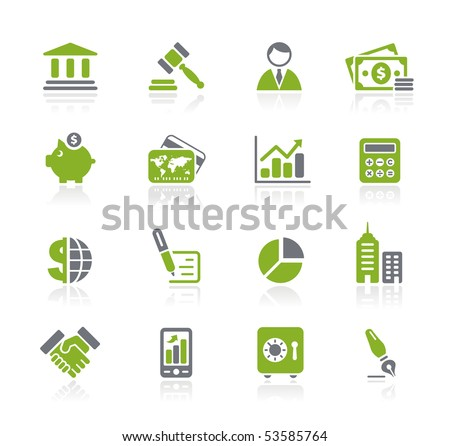 Business & Finance // Natura Series - stock vector
