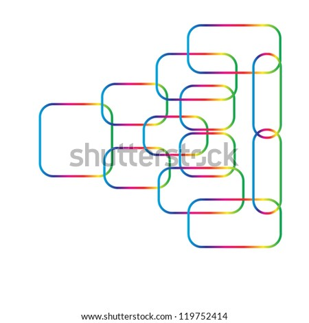 Business Flow Chart System,Vector Eps 10 - stock vector