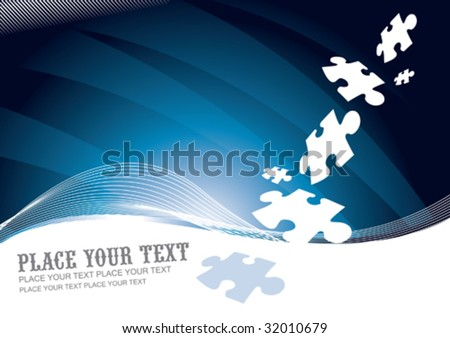Business Flyer / Invitation / Card - stock vector