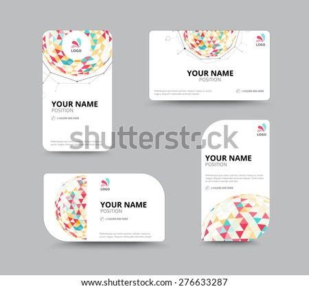 illustrator business card templates