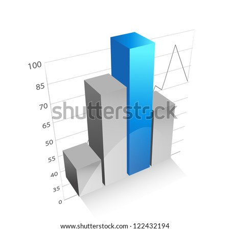 Business graph and chart 6