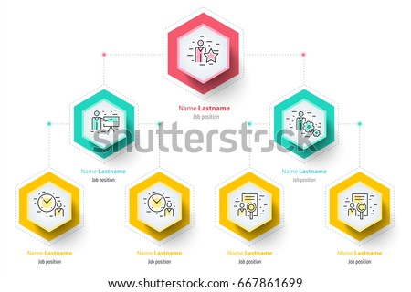 Business hierarchy organogram chart infographics corporate stock business hierarchy organogram chart infographics corporate organizational structure graphic elements company organization branches template ccuart Image collections