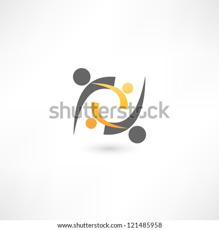 Business icon. - stock vector