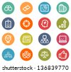 Business Icon Set - stock vector