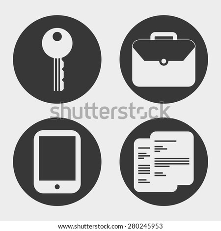 business icons design, vector illustration eps10 graphic