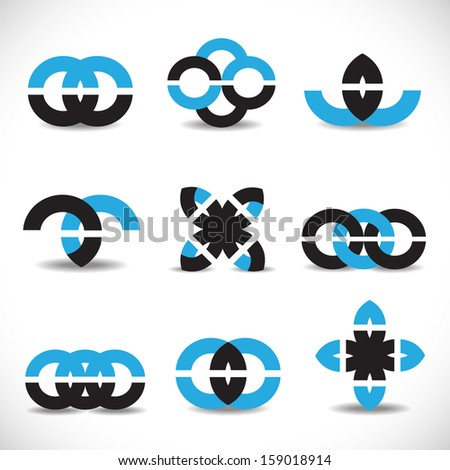Business Icons Set - Isolated On White Background - Vector Illustration, Graphic Design Editable For Your Design. Business Logo - stock vector