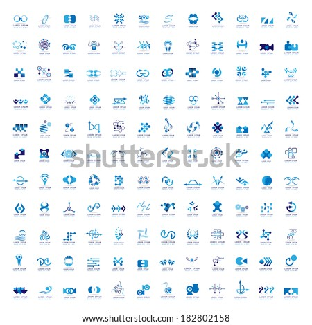 Business Icons Set - Isolated On White Background - Vector Illustration, Graphic Design Editable For Your Design  - stock vector