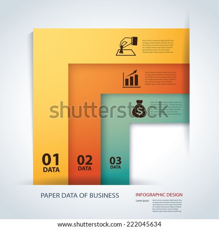 Business Infographic Element data Template
