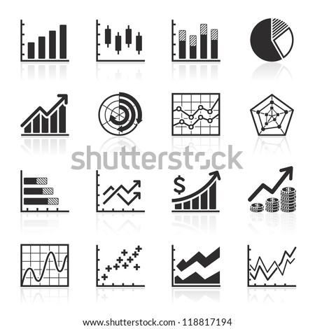 Business Infographic icons - Vector Graphics - stock vector