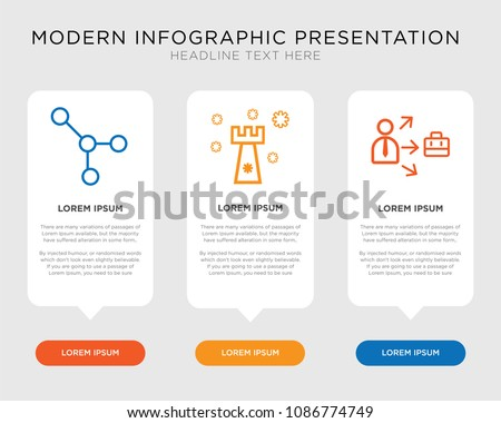 Business infographic template design growth strategy stock vector business infographic template design with growth strategy connection icons editable presentation pixel cheaphphosting Gallery
