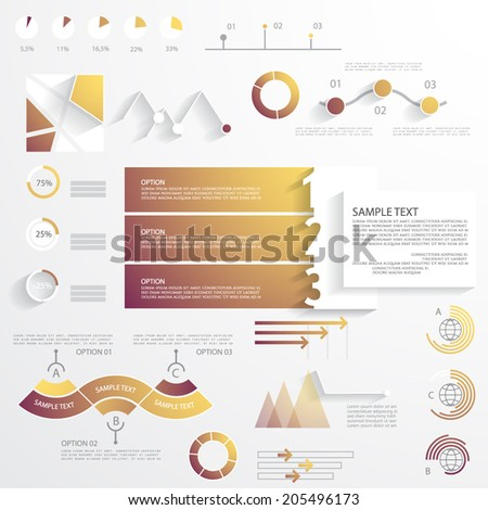 Business infographic templates, vector illustration