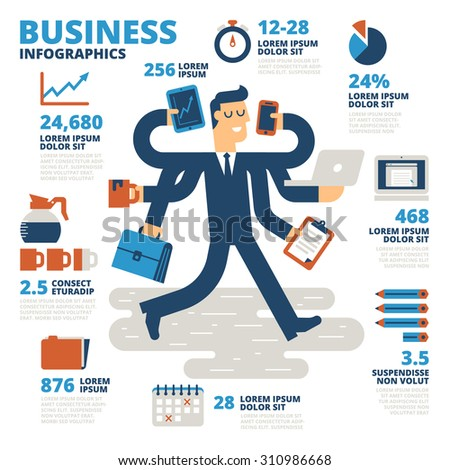 Business Infographics - stock vector