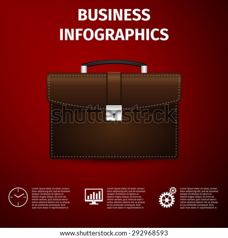 Business infographics icon. Vector Illustration