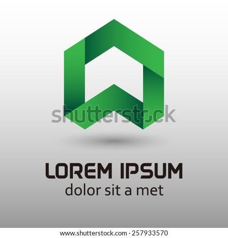 Business innovative and creative inspiration company logo elements, design, template, and vector. - stock vector