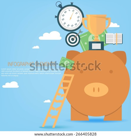 Business investment concept   - stock vector