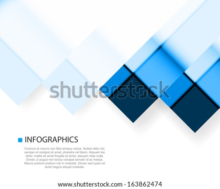 Business layout, paper concept