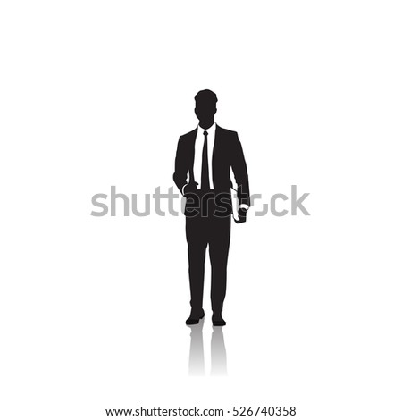 Business Man Silhouette Stock Images, Royalty-Free Images ...