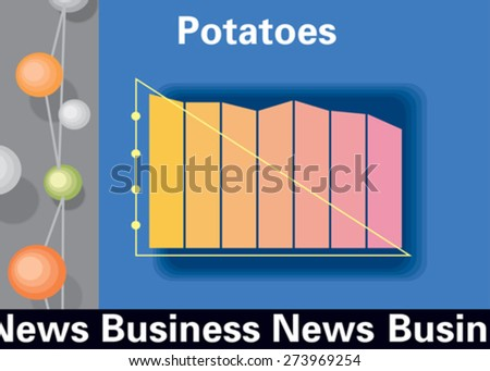 Business News. Concept. Vector