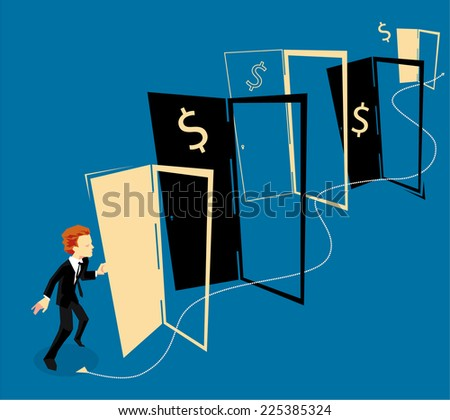 Business Opportunities - stock vector
