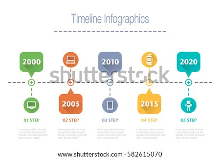 Business overview visualization timeline infographic data stock business overview visualization timeline infographic data business template for presentation vector infographics wajeb Choice Image