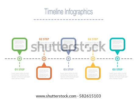 Business overview visualization timeline infographic data stock business overview visualization timeline infographic data business template for presentation vector infographics accmission Choice Image