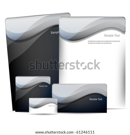 business pack - stock vector