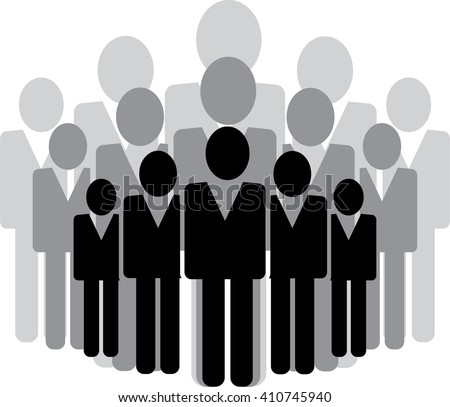 business people icon vector illustration - stock vector