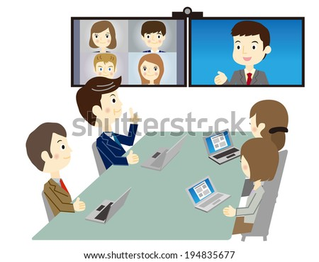 Video Meeting Stock Images, Royalty-Free Images & Vectors ...