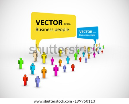 business people vector icon design