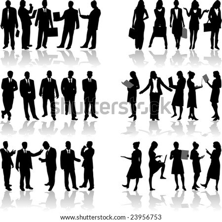 Business people 2 vector work