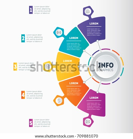 Map or diagram auto electrical wiring diagram business presentation mind map infographic 5 stock vector 709881070 rh shutterstock com map diagram in collection a map or diagram starting with ch ccuart Choice Image