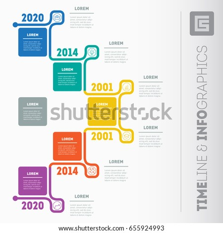 Business Presentation Timeline Concept  Options Stock Photo Photo