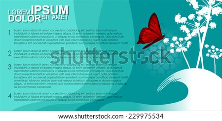 Business presentations. Abstract Vector Background Template. Vector Illustration, EPS 10.  - stock vector