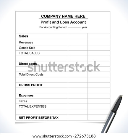 Profit And Loss Images RoyaltyFree Images Vectors – Business Profit and Loss