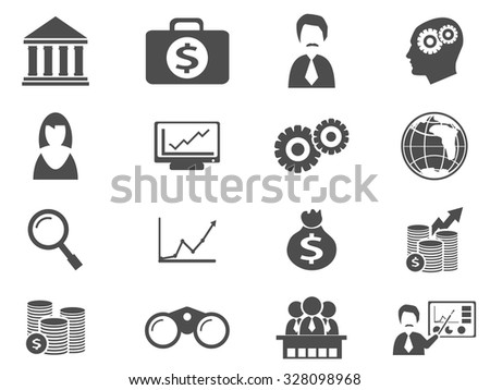 business simply symbol for web icons