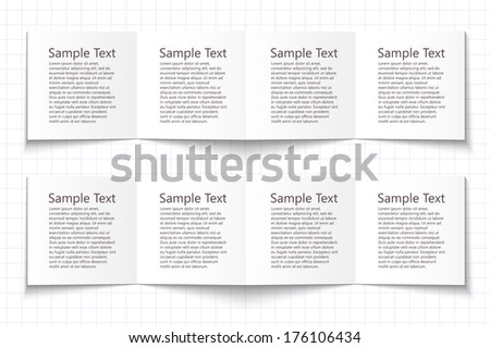 Business Steps.  - stock vector
