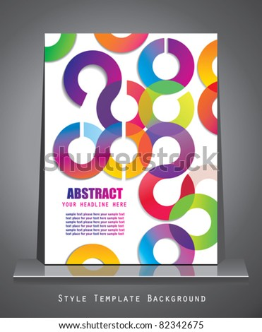 Business style. Abstract background. - stock vector