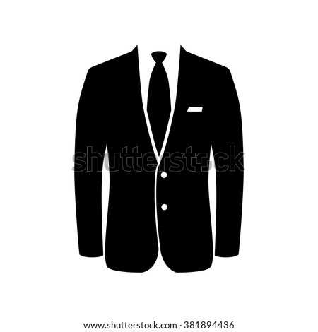Business suit icon stock vector 381894436 shutterstock business suit icon publicscrutiny Gallery